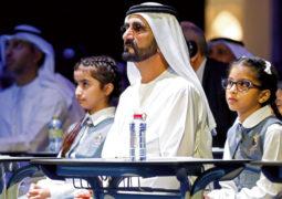 محمد بن راشد: مستقبـــل المنطقة يبدأ من الفصول الدراسية