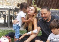 أول صورة لزوجة رامي عياش بعد إصابتها بتفجير بيروت