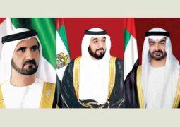 خليفة ومحمد بن راشد ومحمد بن زايد يعزون الرئيس الأمريكي في وفاة شقيقه